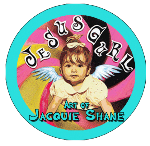 Jesus Gurl Art by Jacquie Shane